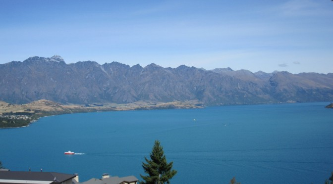 Views from our First House Swap in Queenstown