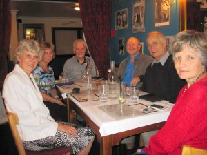 Meal out with Ian, Merryl, David & Beth