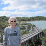 Val on Rangitoto Island
