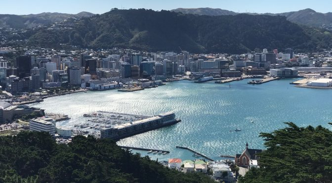 Views of Wellington from Mt Victoria & Southern Walkway