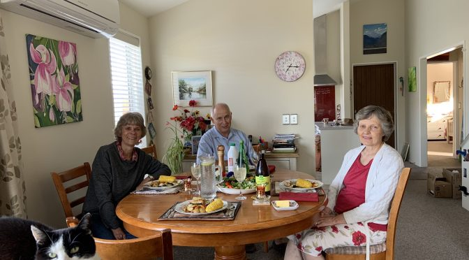 Catching up with the Moores & the woodheads